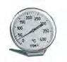Ofenthermometer aus Edelstahl 400°C