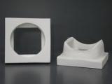 Rauchrohranschlussstück aus Mineralwolle rund/eckig DM20