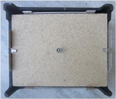 Feuerschutzplatte für Kloss Heiztüre 27 x 43