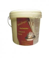 Kachelofen Mineralfarbe weiß 2 kg