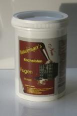Kachelofen Fugenmasse  097 Schwarzrot / Basalt, 0,5 kg