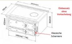 Liesertaler Einbauherd Kloss LBH 90 SE plus