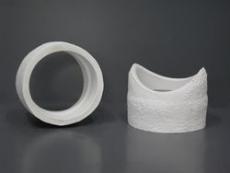 Rauchrohranschlussstück aus Mineralwolle rund/rund DM25