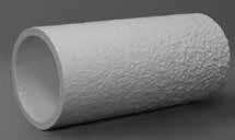 Verbindungsstücke aus Mineralwolle für metallische Rohre - rund DM16