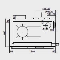 Pertinger Bausatzherd 100 XL