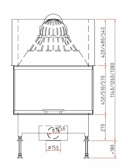 kamineinsatz lina ekko pano ronda hochschiebbar sc kachelofen fugenmasse flachrost. Black Bedroom Furniture Sets. Home Design Ideas