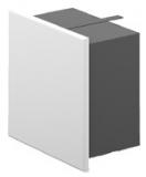 Putzkapseln quadratisch 140 x 140 mm Aufputz ohne Ausschnitt