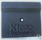 Feuerschutzplatte für Kloss Heiztüre 27 x 34