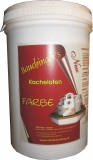 Kachelofen Putzfarbe  0,5kg 720 Terracotta hell