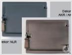 Gussheiztüre 10 x 12 mit Spritzgitter schwarz