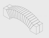 Flachgewölbe aus Doppelganzwölber 15% R55